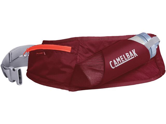 CamelBak Flash Pas z systemem nawadniającym 500ml, burgundy/hot coral